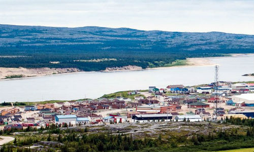 The community of Kuujjuarapik in Nunavik, one of two communities to host Tundra Take-Back projects in 2017. Paul Bell of Poehl's Auto Recyclers will be on site in the town from August 17 to September 2.