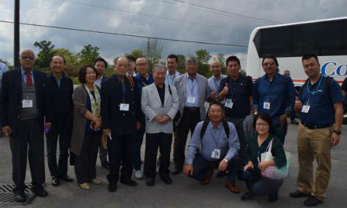 Auto recycling experts from around the world gathered in Niagara Falls for the 2017 International Roundtable on Auto Recycling. The event included tours of Miller's Auto Recycling and Thorold Auto Parts.