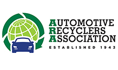 The Automotive Recyclers Association's new logo.