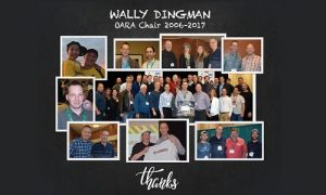Wally Dingman, OARA Chair 2006-2017.